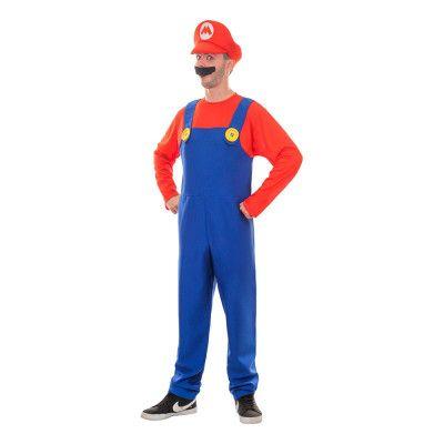 Super Mario Maskeraddräkt - Small