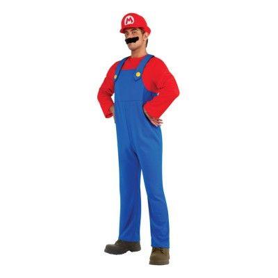 Super Mario Maskeraddräkt - Medium