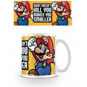 Super Mario Mugg Makes You Smaller