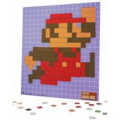 Super Mario Pixel Bild 20x18 cm - Skapa Din Favorit Mario Karaktär