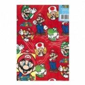 Super Mario Presentpapper