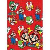 Super Mario presentpapper & etiketter