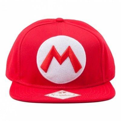 Super Mario Snapback Keps - One size