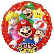 Folieballong spelande, Super Mario