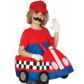 Mario Cart Inpirerad Dräkt för Barn