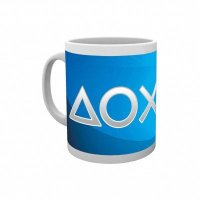 PlayStation, Mugg - Silver Buttons