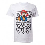 Super Mario Japan T-shirt - Medium