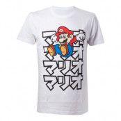Super Mario Japan T-shirt - Medium