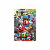 Super Mario Odyssey, Maxi Poster - Kollage