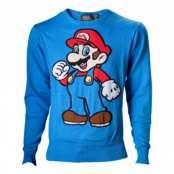 Super Mario Stickad Tröja