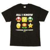 Mario Learned T-Shirt