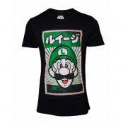 Nintendo Propa Luigi T-shirt, LARGE