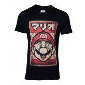 Nintendo Propa Mario T-shirt, LARGE