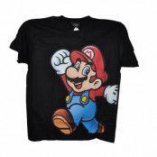 Nintendo Super Mario Svart T-Shirt