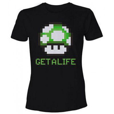 Nintendo - T-Shirt Mario Get a Life