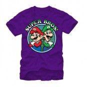 Super Bros T-Shirt, Basic Tee