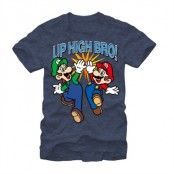 Super Mario Bros - Up High Bro! T-Shirt, Basic Tee