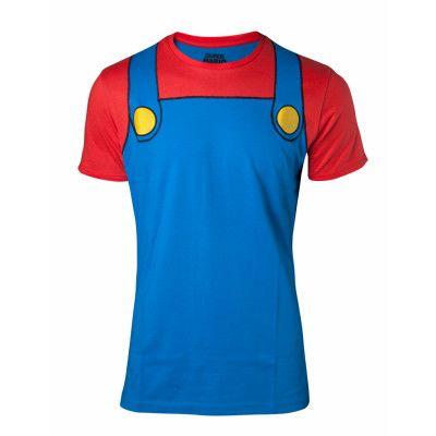 Super Mario Cosplay T-shirt, SMALL