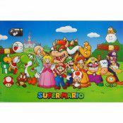 Super Mario, Maxi Poster - Gruppbild