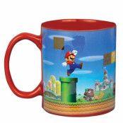 Super Mario Värmekänslig Mugg