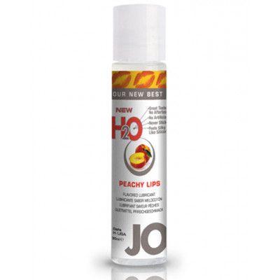 System Jo H2O Lubricant Peach - 30 ml Vattenbaserat Glidmedel