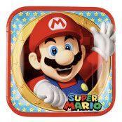 Tallrik, Super Mario