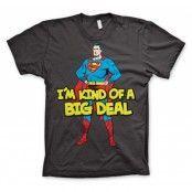 Superman - I´m Kind Of A Big Deal T-Shirt, Basic Tee