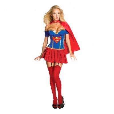Supergirl Maskeraddräkt - Small