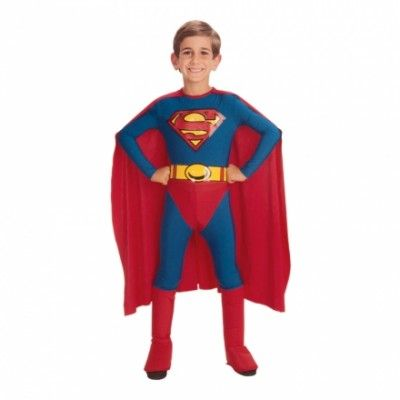 Superman Barn Maskeraddräkt - Small
