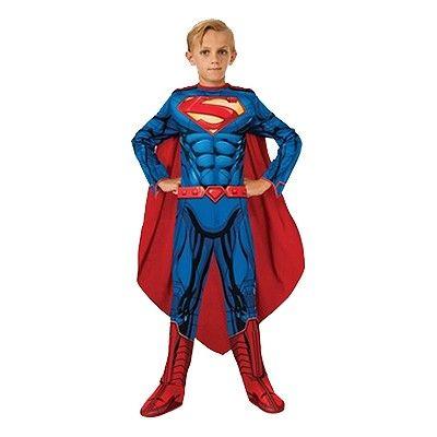 Superman New Barn Maskeraddräkt Budget - Medium