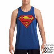 Superman Shield Performance Singlet, CORE PERFORMANCE MENS SINGLET