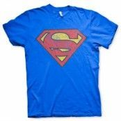 Superman Washed Shield T-Shirt, Basic Tee