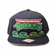 4 Turtles Snapback Cap, Adjustable Snapback Cap