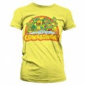 TMNT - Cowabunga Girly T-Shirt, Girly T-Shirt