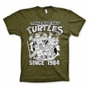 TMNT Distressed Since 1984 T-Shirt, Basic Tee