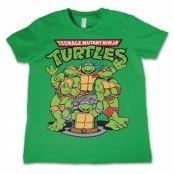 TMNT Group Kids T-Shirt, Kids T-Shirt