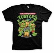 TMNT Group T-Shirt, Basic Tee