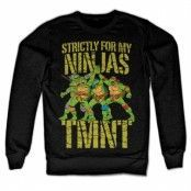 TMNT - Strictly For My Ninjas Sweatshirt, Sweatshirt