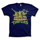 Turtles Distressed Group T-shirt, Basic Tee