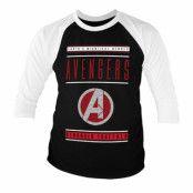 Avengers - Stronger Together Baseball 3/4 Baseball Sleeve, Baseball 3/4 Baseball Sleeve