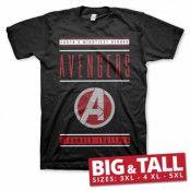 Avengers - Stronger Together Big & Tall T-Shirt, Big & Tall T-Shirt
