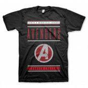 Avengers - Stronger Together T-Shirt, Basic Tee