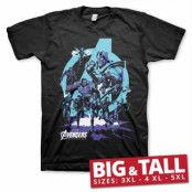 Avengers - Thanos Grip Endgame Big & Tall T-Shirt, Big & Tall T-Shirt