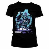 Avengers - Thanos Grip Endgame Girly Tee, Girly Tee