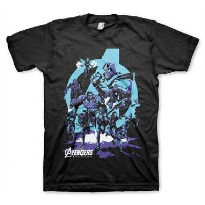 Avengers - Thanos Grip Endgame T-Shirt, Basic Tee