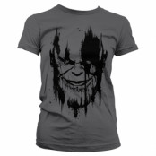 The Avengers - Infinity War THANOS Girly Tee, Girly Tee