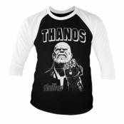 The Avengers - Thanos Infinity Gauntlet 3/4 Sleeve Baseball Tee, 3/4 Slee Baseball Tee