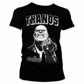 The Avengers - Thanos Infinity Gauntlet Girly Tee, Girly Tee