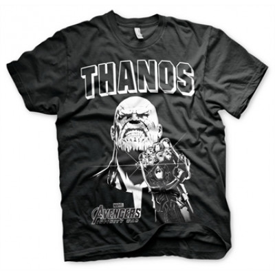The Avengers - Thanos Infinity Gauntlet T-Shirt, Basic Tee