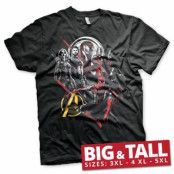 The Avengers Heroes Big & Tall T-Shirt, Big & Tall T-Shirt